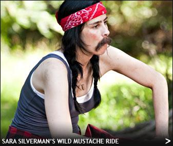 Sara-silverman_wild-mustache-ride