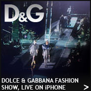 Dolce-gabbana-iphone-fashion-show