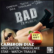 Cameron Diaz - Justin Timberlake - Bad Teacher Trailer