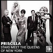 Priscilla Stars Meet The Queens of New York