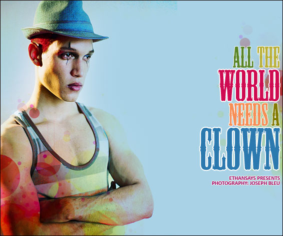 Joseph-bleu_all-the-world-needs-a-clown-1
