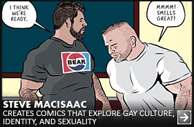 Advocate Artist Spotlight - Steve MacIsaac