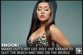 OUT Magazine Hot List 2011 - Snooki