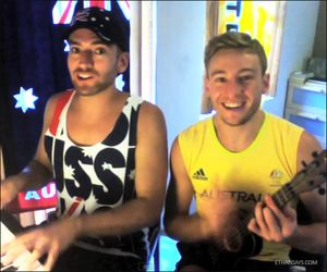 DJ-Dan-Murphy-Matthew-Mitcham-Happy-AU-Day-1