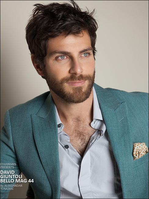 Picture About Male Model  NBC's Supernatural Crime Drama 'Grimm' David Giuntoli in Bello Mag
