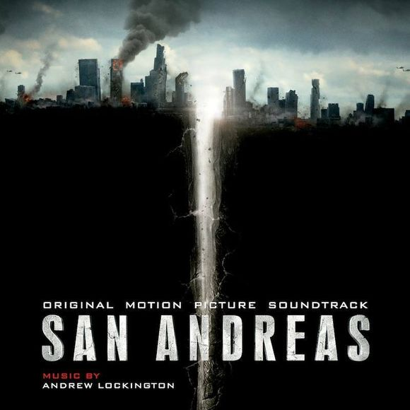 San adreas movie poster