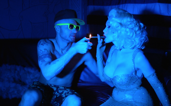 Cazwell downtown amanda lepore