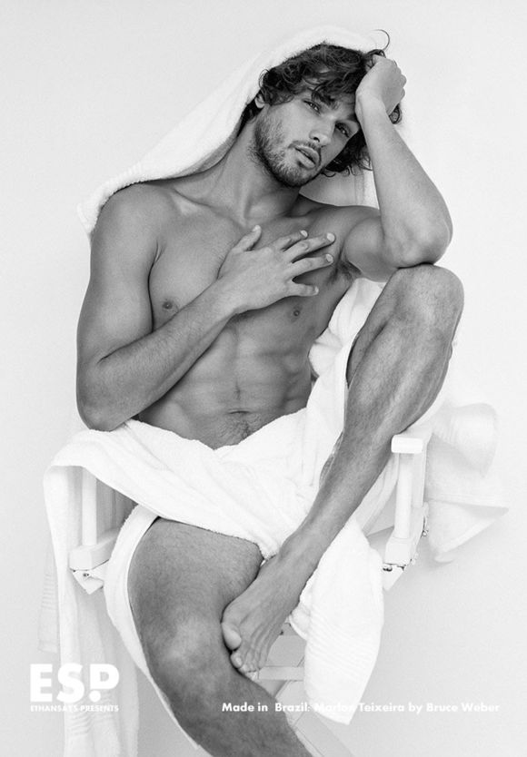 Made in  Brazil Marlon Teixeira by Bruce Weber