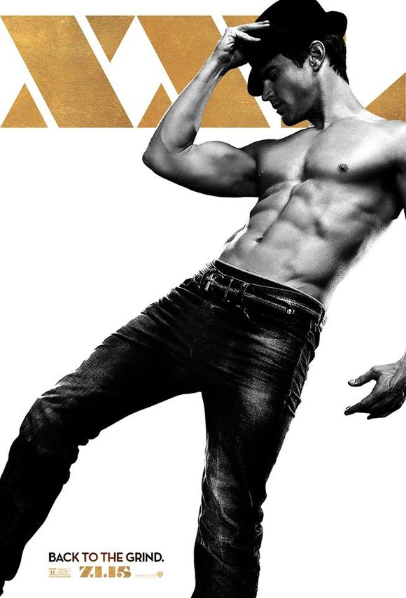 Matt Bomer Magic Mike XXL poster
