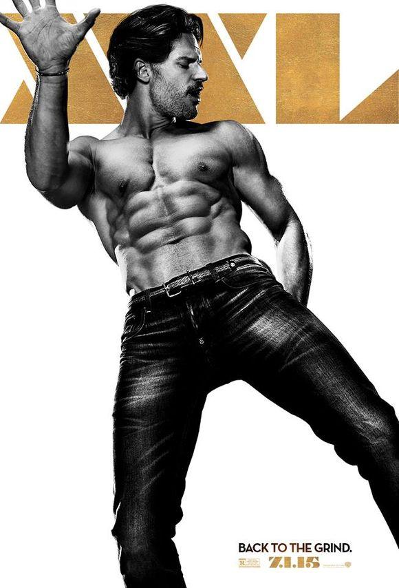 Magic Mike XXL Joe Manganiello Poster