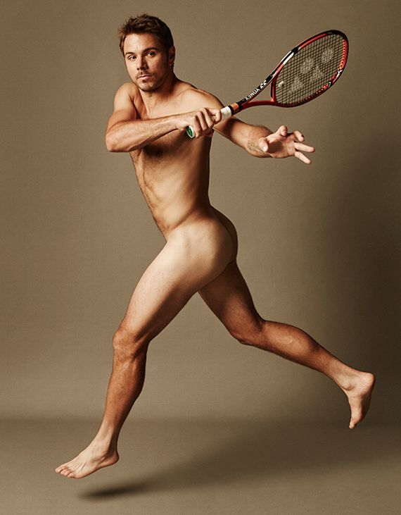 Stan Wawrinka ESPN 2015 Body Issue