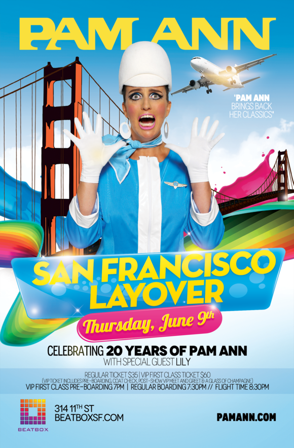 PAM ANN - SFO LAYOVER - JUNE9